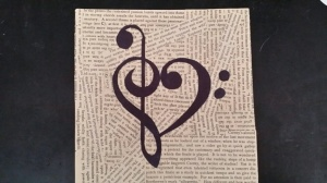 Beethoven Clef Heart